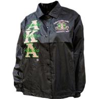 Alpha Kappa Alpha Sorority Line Jacket- Black