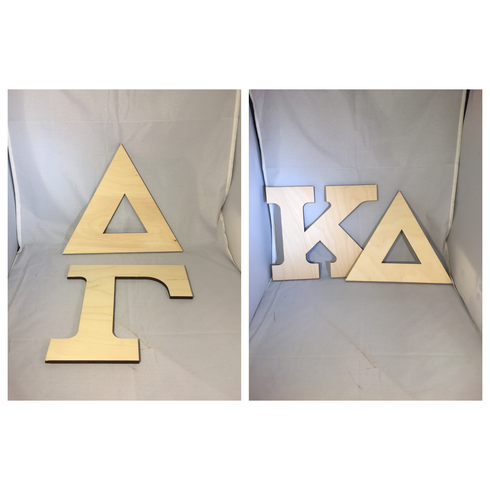 Sorority Wood Letter- Greek Letter Set – Two Letters