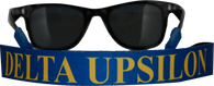 Delta Upsilon Fraternity Sunglass Staps