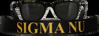 Sigma Nu Fraternity Sunglass Staps