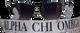 Alpha Chi Omega Sorority Sunglass Straps- Marble