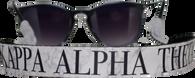 Kappa Alpha Theta Sorority Sunglass Straps- Marble