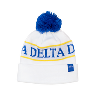 Delta Delta Delta Tri-Delta Sorority Beanie