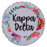 Kappa Delta Sorority Towel Blanket