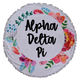 Alpha Delta Pi ADPI Sorority Towel Blanket
