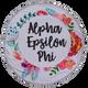 Alpha Epsilon Phi AEPHI Sorority Towel Blanket