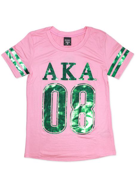 Alpha Kappa Alpha AKA Sorority Foil T-Shirt