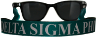 Delta Sigma Phi Fraternity Sunglass Staps