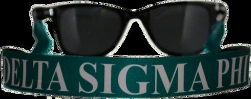 Delta Sigma Phi Fraternity Sunglass Staps
