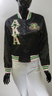 Alpha Kappa Alpha AKA Sorority Satin Jacket- Black