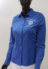 Zeta Phi Beta Sorority Button Down Collar Shirt