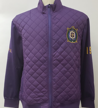 Omega Psi Phi Fraternity On Court Jacket- Front
