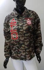 Delta Sigma Theta Camouflage Line Jacket