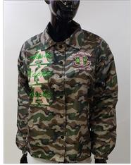 Alpha Kappa Alpha AKA Sorority Camouflage Line Jacket