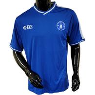 Phi Beta Sigma Fraternity Soccer Jersey-Blue