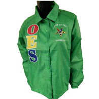 Order of the Eastern Star OES Line Jacket-Green