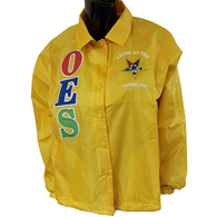 Order of the Eastern Star OES Line Jacket-Yellow