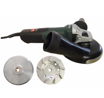 """5"""" PRO GRINDER/POLISHER PACKAGE WITH METABO WEV15-125HT"""