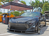 NIA Front Splitter - Paint Matched - Scion FR-S 2013