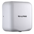 Alpine Industries 400-10-WHI Automatic Hand Dryer w/ 10 Sec Dry Time - White, 110 120v