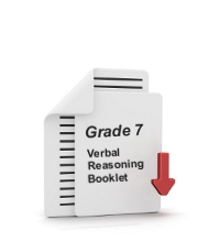 Grade 7 Verbal Reasoning Booklet