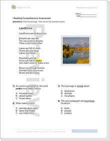"""""""Landforms"""" - 1G / 200L"""