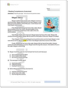 """Megan Swims"" - 2G / 440L"