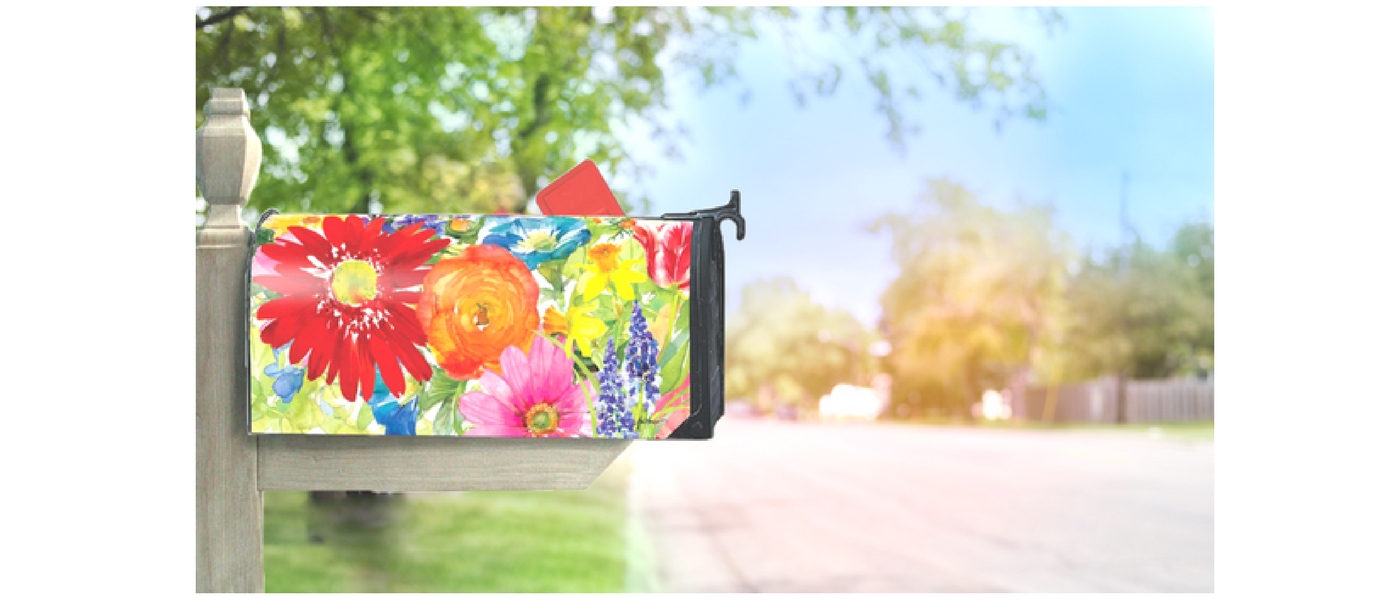 Spring Mailbox Covers