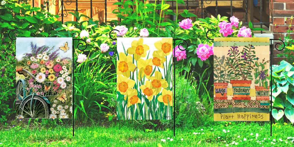 Shop Spring Garden Flags