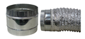 IDEAL AIR - DUCT COUPLER 4""