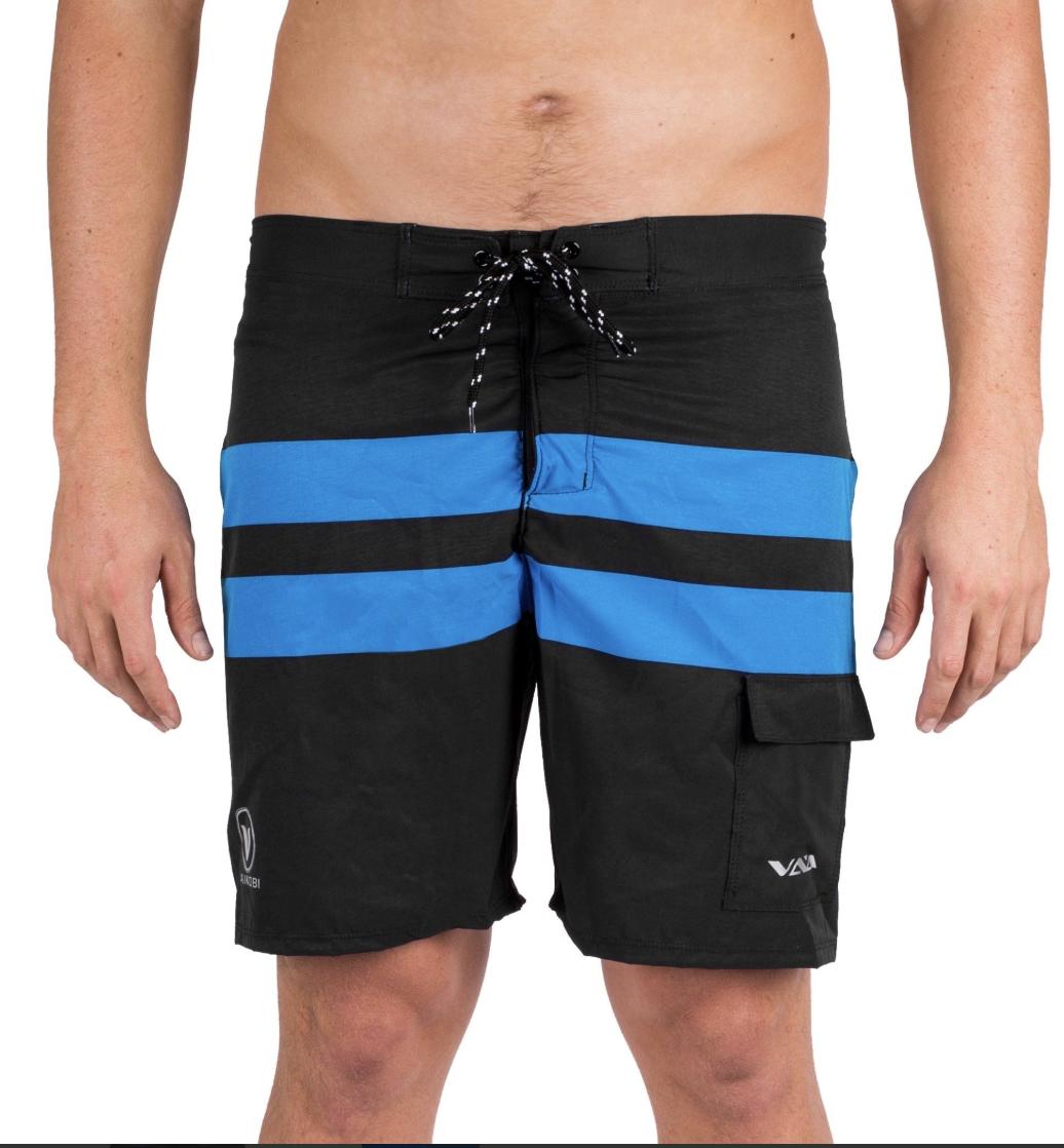 7650188ae4 Vaikobi Paddle Board Shorts - Cyan/Black - Kayak Shop Store