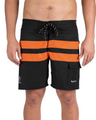 Vaikobi Paddle Board Shorts - Orange/Black