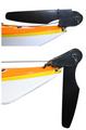 Smart Track Hybrid Foil Rudder Housing - Bayonet Pin