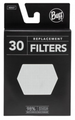 Buff  Face Mask Filters (30 Pack) - Adult Size
