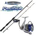 Combo - Pacifica 6' Light spin rod  with Pacifica  2000 reel