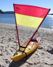 Red/yellow/clear sail