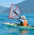 Flat Earth Kayak Sails -  Footloose 80