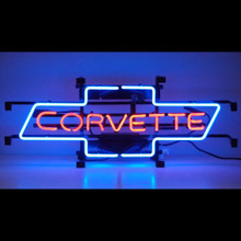 CORVETTE BOWTIE NEON SIGN