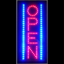 OPEN VERTICAL LED SIGN