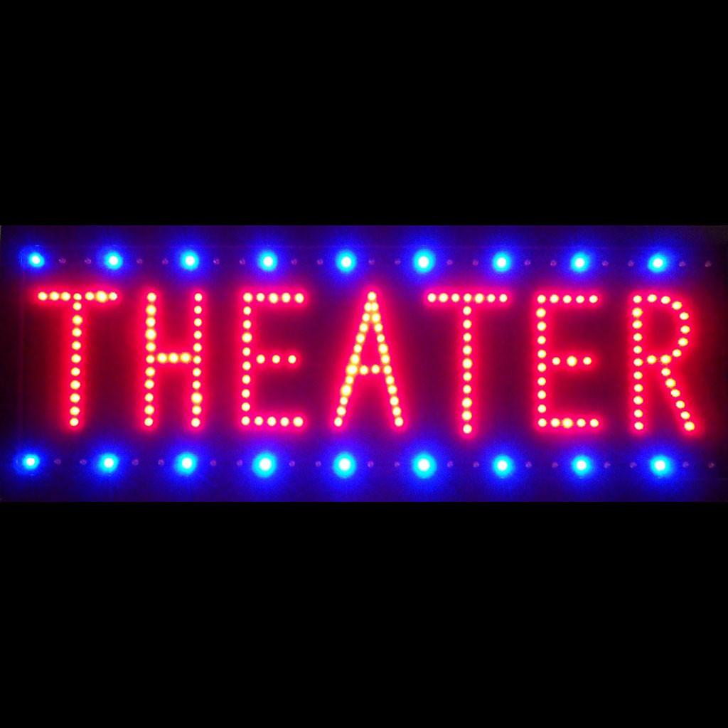 theater led sign neon4lesscom