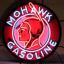 MOHAWK GASOLINE NEON SIGN