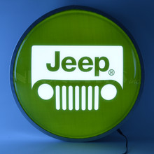 "JEEP 15"" BACKLIT LED LIGHTED SIGN"