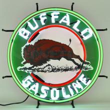 BUFFALO GASOLINE NEON SIGN