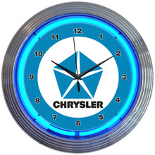 CHRYSLER PENTASTAR NEON CLOCK