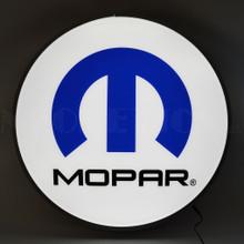 """MOPAR OMEGA M 22"""" BACKLIT LED LIGHTED SIGN"""