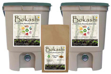 Bokashi Man Double-Bin Kit