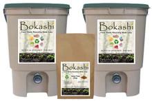 Bokashi Man Double-Bin Kit