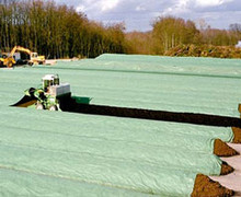 TOPTEX Windrow Compost Cover 5 m wide x 50, 25, 10, 5m long