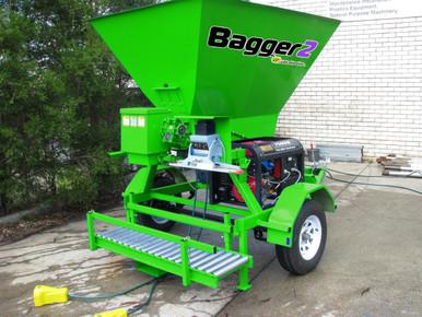 compost bagging machine - green