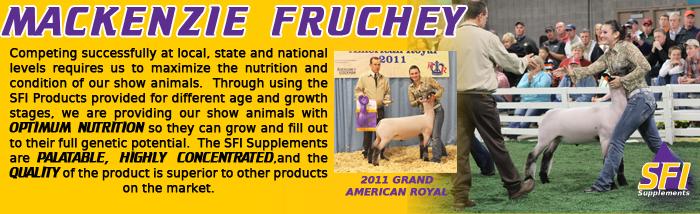 SFI Champions: Mackenzie Fruchey